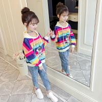 女童卫衣童装2020新款春装中大童薄款儿童春秋上衣