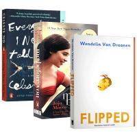 Flipped 怦然心动 英文原版小说 遇见你之前 我就要你好好的Me Before You 无声告白 经典爱情小说 全