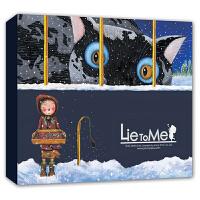 几米笔记本《真的假的啊》系列:卖火柴的小女孩(精) 几米漫画书籍全套 几米绘本 几米作品全集