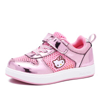 HELLO KITTY凯蒂猫童鞋新款运动鞋儿童板鞋透气网面鞋