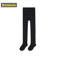巴拉巴拉女童 儿童袜子宝宝棉袜秋季长筒袜薄款透气打底裤连裤袜