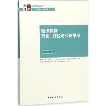 精准扶贫 中国社会科学出版社 【文轩正版图书】