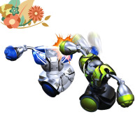 【支持礼品卡】遥控对打格斗拳击对战机器人双人装 男孩对战智能玩具j9w