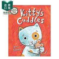 【预售】Kitty's Cuddles 猫咪的拥抱 精装英文原版儿童绘本 Jane Cabrera
