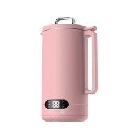 PERIPOP迷你破壁豆浆机1-2人家用全自动多功能加热免洗过滤料理机 精致粉