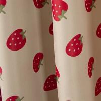 床帘小草莓宿舍遮光蚊帐子学生少女心卧室上铺寝室公主风床帐帐篷 135CM高床帘3片+ 1.0m(3.3英尺)床