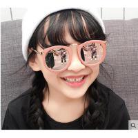 时尚韩版箭头墨镜儿童偏光镜 个性旅游户外太阳镜男女童装饰眼镜