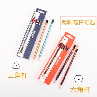 晨光铅笔 小学生铅笔 三角杆HB六角儿童练字写字铅笔学生文具批发