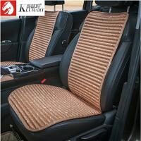 汽车坐垫单片夏季三件套荞麦壳透气单个车垫四季通用防滑座垫