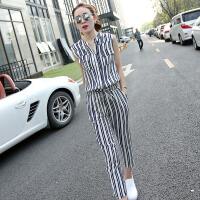 香衣宠儿 2018连体裤两件套 夏季新品时尚套装女装  2255-801