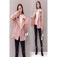 冬季新款韩版修身显瘦加厚外套女棉衣短款时尚潮流女装
