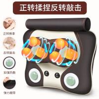 颈椎按摩枕电动颈肩腰部颈部揉捏全身按摩器仪多功能家用加热枕头
