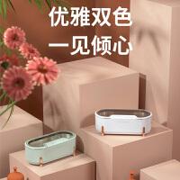 【支持礼品卡】大宇C1超声波清洗机家用洗眼镜机隐形眼镜清洗器手表首饰清洗机小型 白色