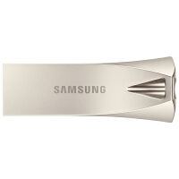 三星(SAMSUNG)Bar Plus 32G/64G/128G/256G USB3.1 U盘 电脑车载金属U盘 香槟