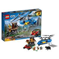 LEGO乐高城市系列山地特警空中追捕60173 2018 1月新款
