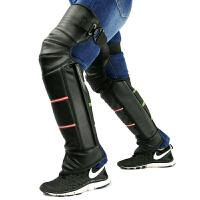 摩托车保暖护膝 保暖护具电动车全包护膝护腿防风防寒短护膝 冬天绑腿加厚绒毛防雨隔风