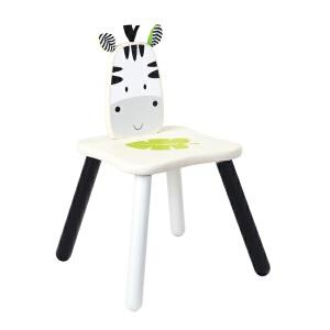 【当当自营】斑马椅 泰国Wonderworld儿童专属利来国际ag手机版 高级橡胶木质利来国际ag手机版
