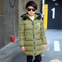 新款中大儿童棉衣韩版长款冬季加厚儿童男童棉衣童装棉袄