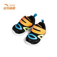 安踏童鞋2019春季新款儿童鞋子男童女童宝宝灯鞋婴幼儿机能学步鞋