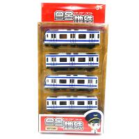 合金高铁地铁小火车套装金属磁性可连接儿童玩具火车头模型回力车 官方标配