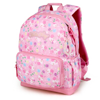 Hello Kitty凯蒂猫 KT1075A粉红 护脊儿童书包小学生书包女幼儿园背包 当当自营