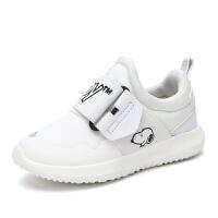 史努比童鞋新款潮休闲鞋儿童鞋子男透气跑步鞋