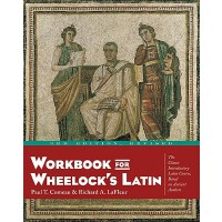 英文原版 韦洛克拉丁语教程 Workbook for Wheelock's Latin, 3rd Edition, R