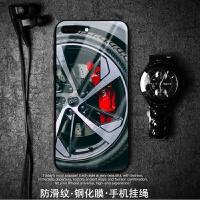 奥迪iphoneXs max玻璃手机壳苹果8/7/6 plus轮毂XR8X时尚改装 苹果6p 6sp