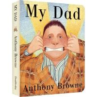 【首页抢券300-100】My Dad 我的爸爸 安东尼 布朗 安徒生奖 格林威大奖 Anthony Browne 儿童