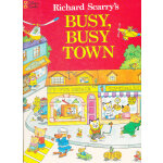 Richard Scarry's Busy, Busy Town (Little Golden Book) 金色斯凯瑞-忙忙碌碌镇(精装)ISBN 9780307168030