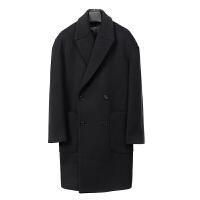 毛呢大衣男中长款学生韩版羊绒大衣男青年中长款呢子外套风衣冬季