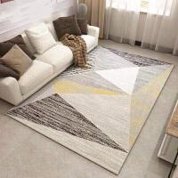 北欧ins地毯简约现代客厅沙发茶几垫/卧室可爱满铺床边毯家用定制j (材质环保无味) 新几何