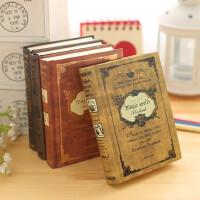 欧式复古风笔记本文具古典创意小号口袋记事本加厚随身带日记本子