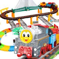 托马斯小火车汽车套装电动拖马斯火车玩具轨道车过山车3-6岁