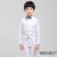 男童马甲套装合唱演出钢琴演奏服礼服 男儿童礼服花童礼服秋