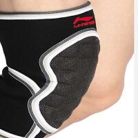 LINING李宁 运动护具 篮球足球羽毛球自行车运动护膝护具 防撞防护护膝AQAH258