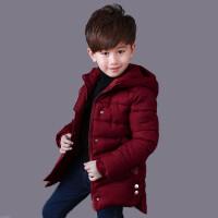 童装男童棉衣2017冬季新款韩版中大童羽绒棉加厚保暖儿童棉袄