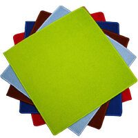 麻将桌布垫子 家用正方形台面布加厚消音防滑手搓纯色麻将毯