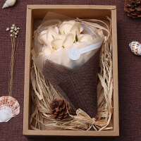 手工香皂玫瑰花创意特别的生日礼物女生情人节送女友朋友情侣闺蜜