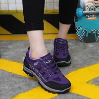 爬山运动防水轻便女鞋新款登山鞋春夏户外女徒步鞋防滑耐磨旅游鞋