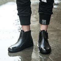 雨鞋男短筒雨靴水鞋男士女式套鞋防水防滑春夏橡胶时尚