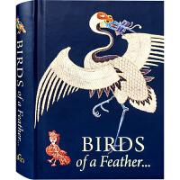 【英文版】BIRDS of a Feather... 艺术之鸟 艺术品中的鸟 绘画 刺绣 陶艺 书籍