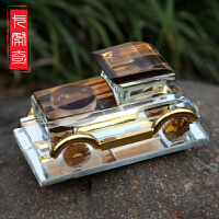 汽车香水座时尚工艺水晶香水瓶 车载车用车模摆件 手工打造