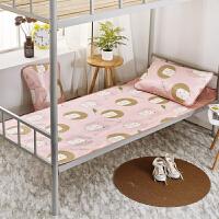 学生宿舍凉席单人床可折叠上下铺卡通冰丝席0.9m夏季席子1.0m