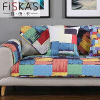简约现代客厅沙发垫子四季通用全棉布艺坐垫真皮防滑全包罩巾盖套