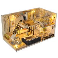 创意礼物女生小屋别墅手工制作房子拼装玩具