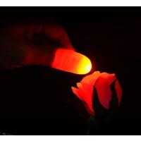 拇指灯发光跳舞舞台火焰一对手指灯手指套魔术道具