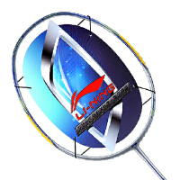 LINING 李宁羽毛球拍AYPJ194-1 碳纤维羽毛球拍 AYPJ186-1 控球型防守兼备 600