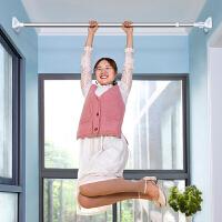 家居免打孔浴帘杆不锈钢衣柜撑杆伸缩晾衣杆涨杆窗帘杆晾衣支架杆
