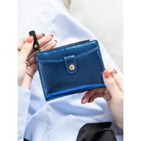 户外小钱包女短款学生韩版个性爆款简约多功能折叠钱夹薄